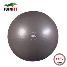85cm Anti-Burst Swiss Pro Ball/Fitness Ball/Burst Resistant Yoga/Exercise Ball with Pump-Gray(China)
