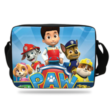 Cool PAW Patrol School Messenger Bag For Children Boys Girls Print Cartoon Shoulder Bag For Kids