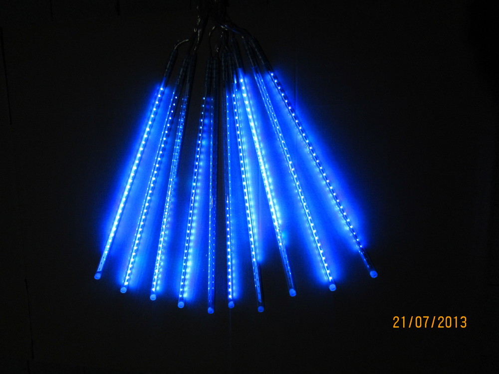 led meteor lighting 85-265v ac 10pcs/set double-sided 30cm 0.3m 36LEDs/tube led Rain Light LED Snow fall tube  10set/lot<br><br>Aliexpress