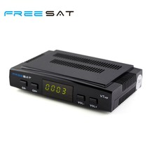 Freesat V7 HD Satellite TV Receiver 1080P Multifunction Set-top Box Support PowerVu DVB-S2 USB 3G Dongle(China)