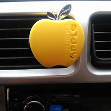 2016 Fashion parfum car-styling Flavor In The Car Perfume 100 Original Apple Shape Car Air Freshener For VW Ford Kia Renault(China)