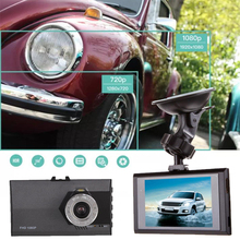 "3"" Full HD 1080P Cars Vehicle DVR Dash Camera Video Cam Recorder G-Sensor"