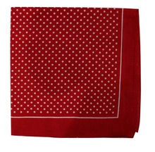 Free Shipping 2017 New Fashionable Cotton Red White Polka Dotted Bandanas For Women Mens