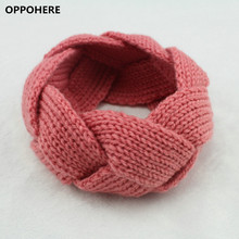 Crochet Twist Knitted Headwrap Winter Warmer Hair Band for Women clothing Accessories headband(China)
