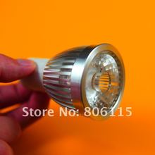 Free shipping,High Power GU10 10W COB LED Dimmable spot light,6pcs/lot,warm white,cool white LED bulb lights AC110V/220V(China)