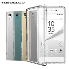 Crystal Case Transparent Clear For Sony Xperia Z Z1 Z2 Z3 Z3 Z4 Z5 Compact M2 M4 M5 XA1 Ultra C3 E3 X XA XZ E5 E4 Soft TPU Cover