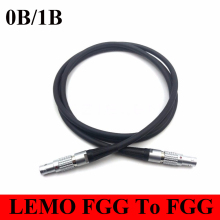 LEMO Connector FGG to FGG Plug 0B 1B 2 3 4 5 6 7 8 9 10 14 16 Pin Connector Welding Cable 1M RRI MINI Camera power cable plug