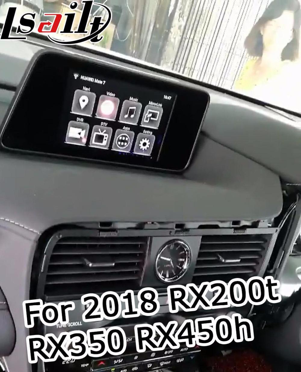 2018RX200T homeinterface