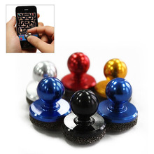 Mobile Phone Physical Joystick Fling Joystick Game Joystick for iPhone Pad Touch Screen Mobile phone Mini Rocker(China)