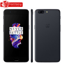 "Original Oneplus 5 Snapdragon 835 6G RAM 64G ROM Mobile Phone LTE 4G 5.5"" 20.0MP 16.0MP Dual Camera Fingerprint Android 7.0(China)"