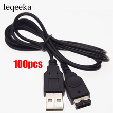 100pcs USB charger charging cable For Nintendo GBA SP NDS Controller USB power cable data cable(China)