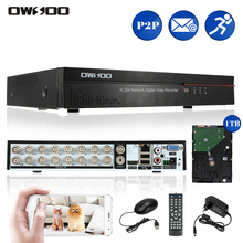 OWSOO 16CH Channel Full CIF HDMI P2P Network DVR Digital Video Recorder + 1TB Hard Disk for CCTV Security System Phone Control(China)