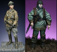 1/35 Scale WW2 German classic Battle of the Bulge WWii Figure Resin Model Kit Free Shipping