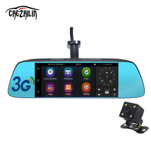 "Chizhilin New 7"" Special 3G Mirror Rearview Car DVR Camera DVRs Android 5.0 With GPS Navigation Automoblie Video Recorder"