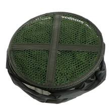 Collapsible Fishing Basket Dip Net Fishing Cage 33cm to Keep Fish Alive in the Water Fishing Accessories Tool
