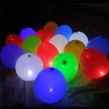 50Pcs Glow In The Dark Sky Lanterns Globos Party Baloons Led Flash Balloons Illuminated LED Balloon Wedding&Birthday Decoration(China)