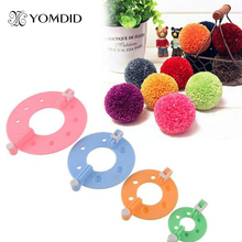 8pcs/set Weaving Tools Pompon Braider Knitting Wool Ball Pompon Making Tools Herramientas de fabricacion de pompas