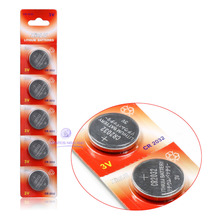 10PCS/lot CR2032 DL2032 CR 2032 KCR2032 5004LC ECR2032 button cell coin Battery for watch , 10pcs CR2032 Battery.(China)