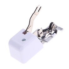 1 Pcs Household Multi-Function Sewing Machine Presser Foot With Side Cutter/Blade,Excellent Work For Serger And Cutting PTSP(China)