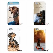 Lovely Cute Animal Dachshund Dog Puppy For Motorola Moto G LG Spirit G2 G3 Mini G4 G5 K4 K7 K8 K10 V10 V20 Soft Silicone Case(China)
