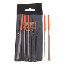 5 in 1 Diamond Needle File Plastic/Metal Repair Tool Kit Set for Ceramic Glass Stone Jewelers Wood Carving Hobbies Crafts FEN#(China)