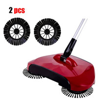 2pcs Replace Telescopic Floor Dust Sweeper Side Brush set replacement brushing set for sweepers drop ship