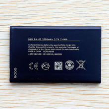 Mobile Phone Battery BYD BN-02 BN02 BN 02 For Nokia XL XL 4G RM-1061 RM-1030 RM-1042 RM 1061 2000mAh 3.7v High Quality in stock