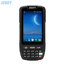 Portable Android PDA 1D 2D Scanner Mobile Data Collector Terminal With Charger 4'' Screen 16G ROM/Wifi/BluetoothNFC Reader(China)
