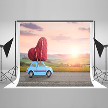 Buy Kate 300x300cm, 10x10ftValentine'S Day Photo Background Photography Backdrop Cartoon Car Wedding Backdrop Design Photocall for $22.70 in AliExpress store