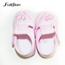 Cute Heart  Baby Shoes Infant Girl Boy Anti-slip Soft Cotton Soled Sneaker Skid-proof  Soft Cotton Toddler Infant First Walkers