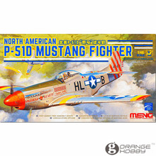 OHS Meng LS006 1/48 North American P51D Fighter Assembly Airforce Model Building Kits(China)