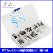 200pcs/lot HU92 Car Lock Reed Locking Plate HU92 Car Locks Tablets Lock Spring car locksmith tools