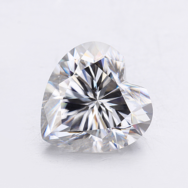 Cheestar Gems Loose moissanites stone GH color Heart shape 6*6mm Moissanites gemstones Syntheti diamonds stone High quality