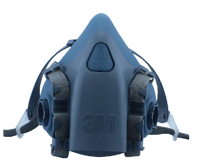 3M 7503 Half Face Respirator Mask Original Reusable Respirator Size Medium Use with 3M Cartridges Filters LT047<br>