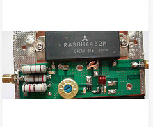 Radio amplifier board FOR RA30H4047M mitsubishi radio module supporting plate(China)