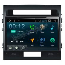 2017 Top Car-styling Android 6.0 Car Vehicle GPS Navigation for Toyota land cruiser Car DVD Radio Stereo Multimedia Player