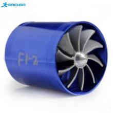 New Best Promotion Blue Universal Car Fuel Gas Saver Supercharger For Turbine Turbo Charger Air Intake Fan Turbocharger