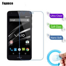3PCS/Lot Soft Glass Nano Explosion-proof Protection Film Screen Protector for Sony Va-10j Vaio Phone Film(China)
