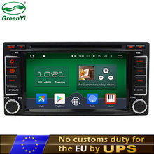 "GreenYi 2GB RAM 2 Din 6.2"" Android 6.0 7.1 PC Car DVD GPS For Subaru Forester Impreza 2008-2011 4G TV Bluetooth RDS Radio(China)"