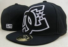 DC hiphop cap flat along the cap DC baseball cap whole sealing cap