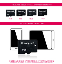 Hot sale micro TF card Memory card 2GB 4GB  8GB 16GB micro memory card TF card Pen drive Flash + Adapter T2  class 6 32GB-64gb