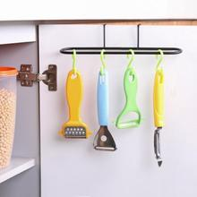 NAI YUE Hanging Kitchen Cabinet Door Trash Rack Towel Storage Garbage Rag Bags Holder iron Kitchen Shelves(China)