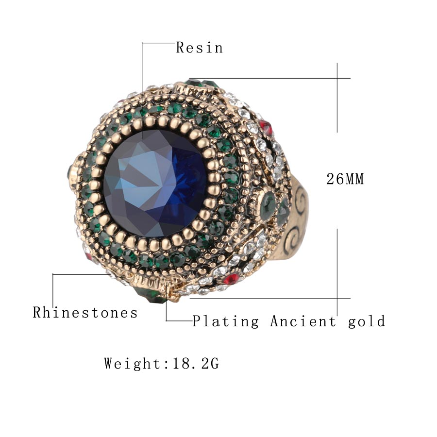 Kinel-Fashion-Gold-Antique-Ring-For-Women-Bohemian-Blue-Resin-Inlay-AAA-Crystal-Punk-Charm-King (4)