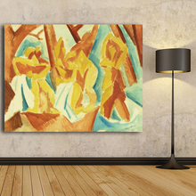 Pablo Picasso Abstract Paintings Image For Home Decoration Silk Canvas Fabric Print Poster Wallpaper Wall Art Prints Home Decor