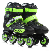 Professional Inline Skate Adult Roller Skating Shoes High Quality Free Style Skating Patins Ice Hockey Skates(China)