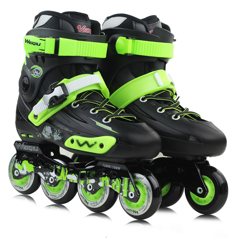 Professional Inline Skate Adult Roller Skating Shoes High Quality Free Style Skating Patins Ice Hockey Skates(China (Mainland))