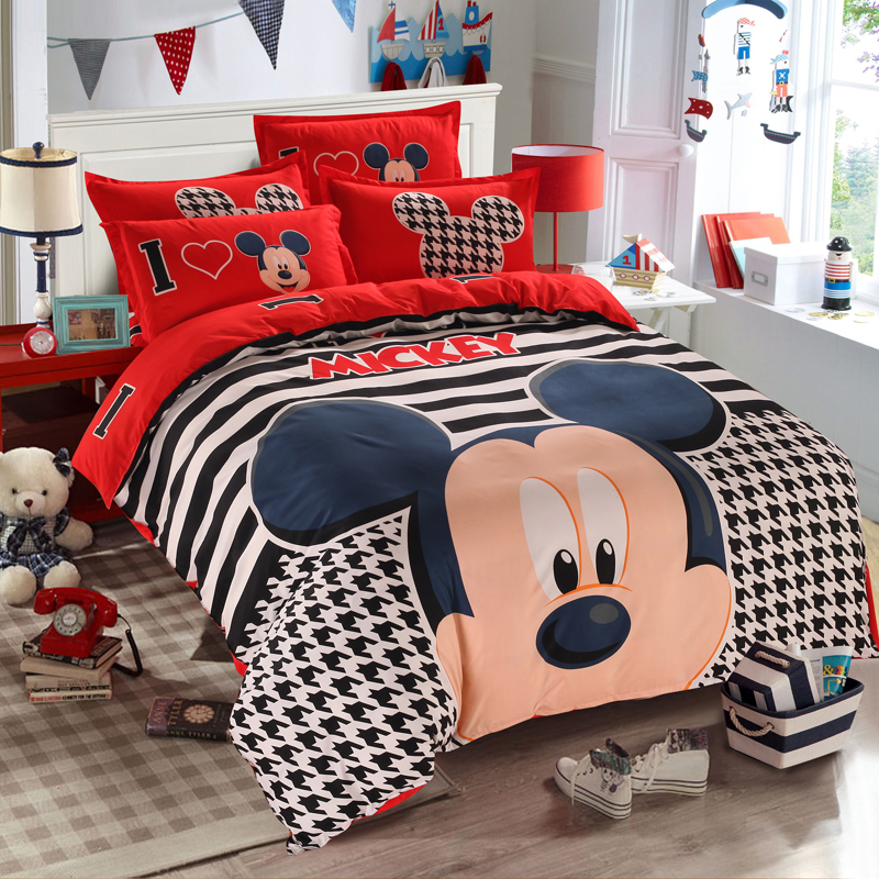 mickey mouse bedding set (3)
