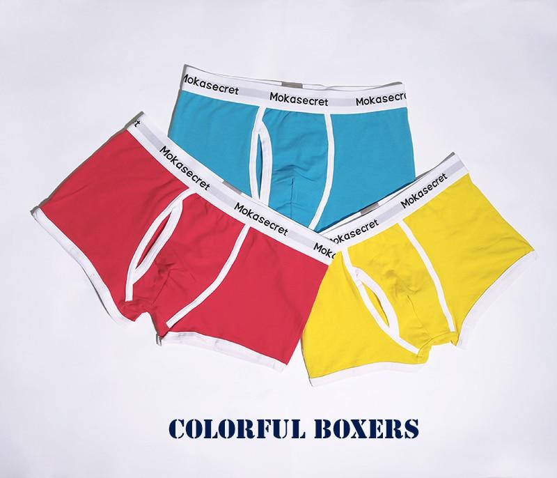 Brands Men Underwear Cotton Boxers 3pcslot Male Panties Boxer Shorts Calvin Calzoncillos Hombre Cueca Underpants Boxers Trunks01