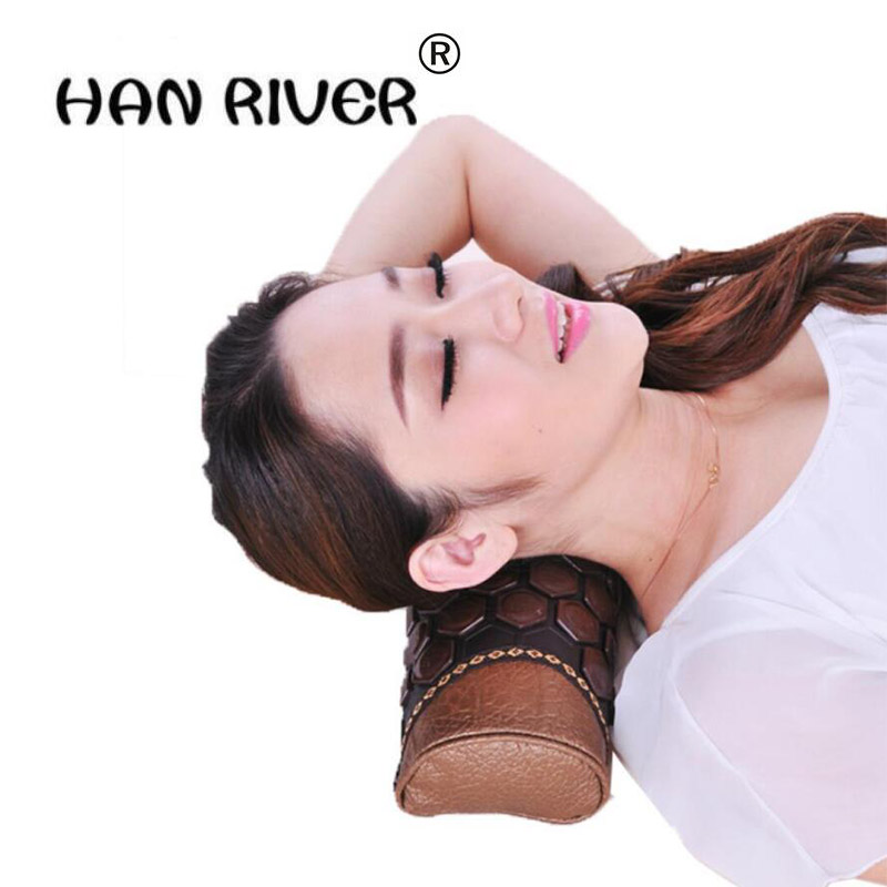 Candy type magnet small neck pillow Cervical spine magnetic therapy health care pillow Jade pillow cervical pillow summer old ma<br>