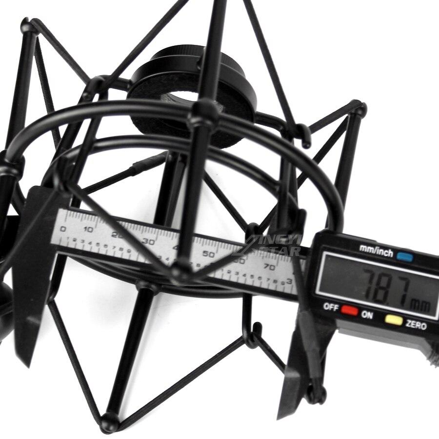Metal Shock Mount Spider Microphone 5